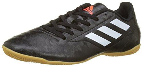 adidas Herren Conquisto II Hallen-Fußballschuhe, schwarz-weiß